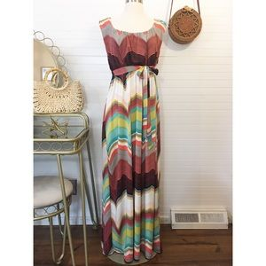 Worthington Multicolor Maxi Dress
